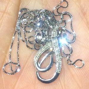 Zales 10k gold necklace.